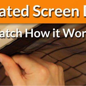 Self Closing Screen Door As Seen On Tv