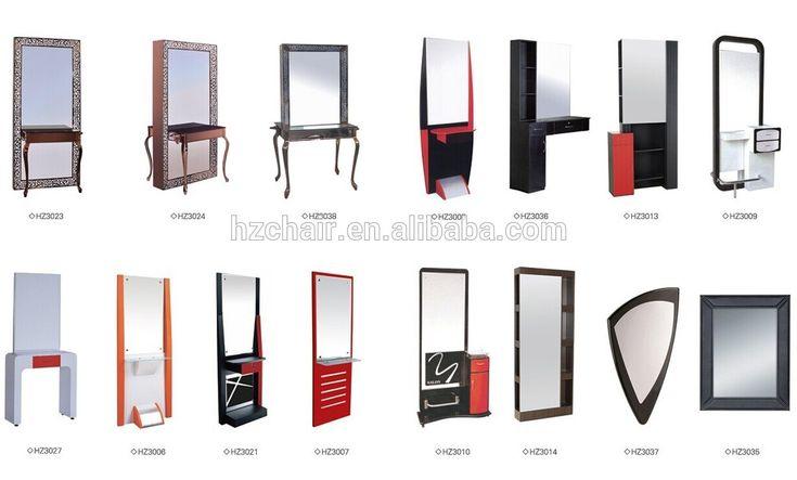 2015 populaire équipement de salon à vendre / salon de beauté miroir de bonne qualité
