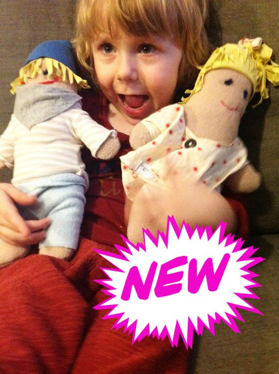 Personalised Rag Dolls by MOMSTERS by HEYMOMSTERS on Etsy