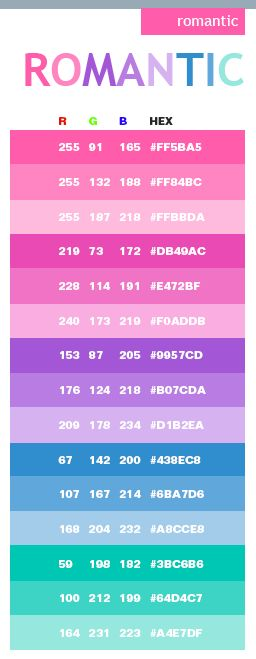 25 best pink color schemes ideas on pinterest spring Color combinations numbers