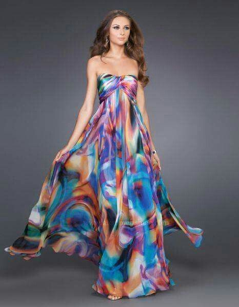 the color inspiration for the lining of the ball gown layer