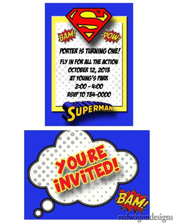 about superman invitations on pinterest photo invitations superman