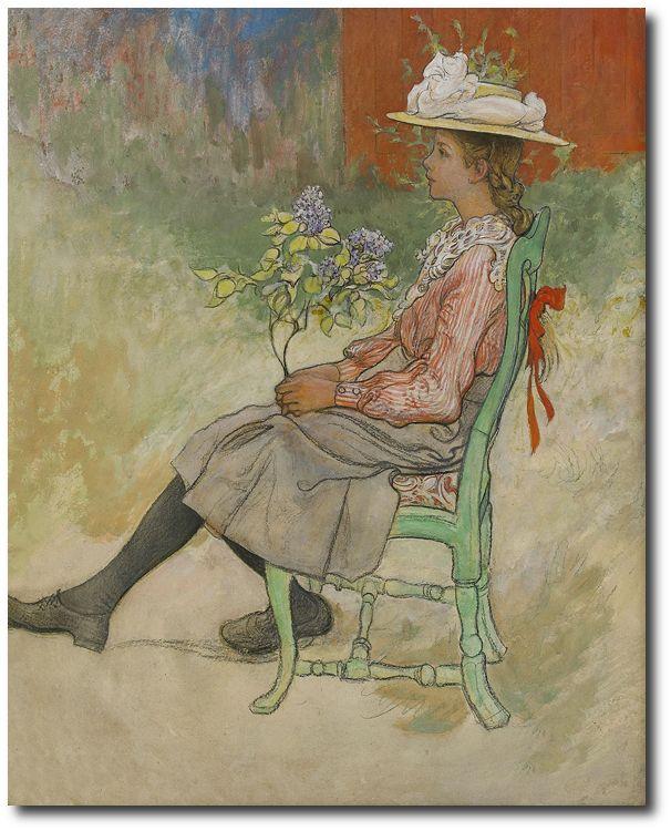 By Carl Larsson 1909 Dagmar Grill