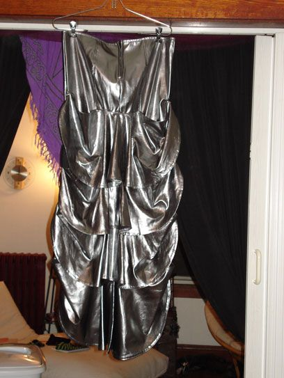 "LIP SERVICE Fetish Classics ""X-Treme Bustle"" long skirt #38-193"