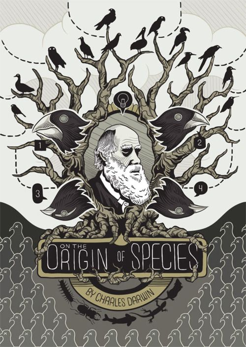 Alan Kennedy: Origin of Species  Quelle: inprnt.com