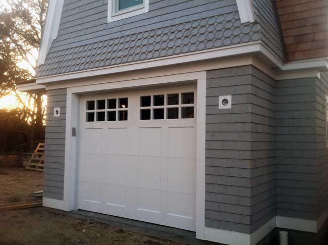 custom insulated paintgrade carriage house photo gallery for the overhead garage door company of cape cod