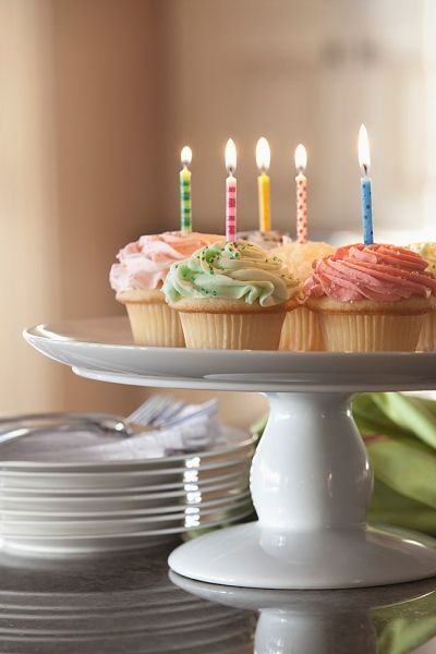 cupcakes, birthday cake, cupcake with candles, cake with candles
