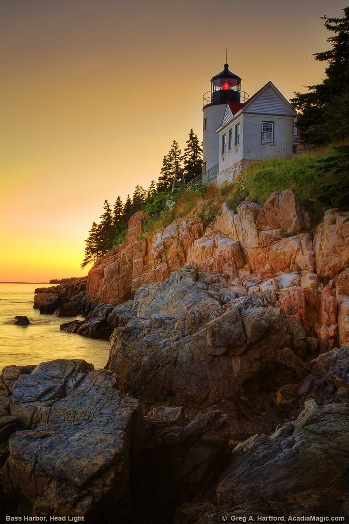 View the Historic Bass Harbor Head Lighthouse. 33 min from Bar Harbor,  Maine