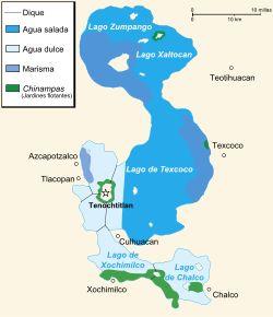 Lago de Texcoco - Wikipedia, la enciclopedia libre