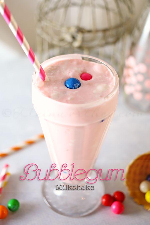 Bubblegum Milkshake. How fun! #candycratedotcom