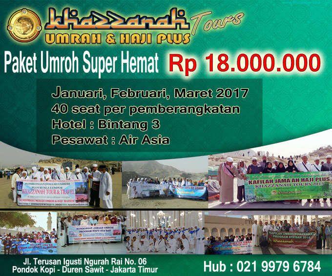 #Paket Umroh Promo Super Hemat