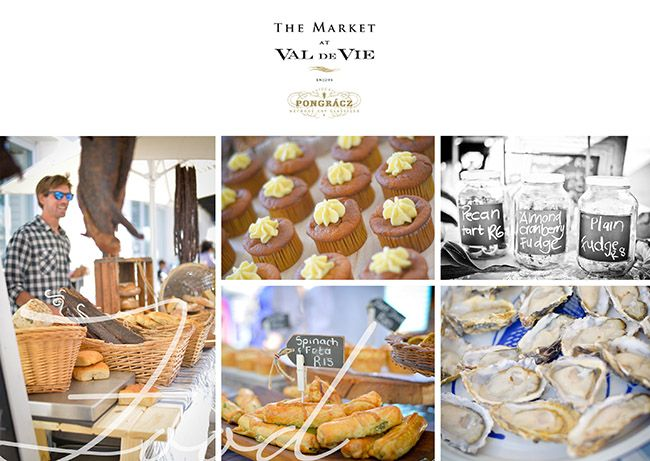 Oysters, cupcakes, fresh bread, cheese, home made pies - so much to taste at The Market at Val de Vie Estate @valdevieestate