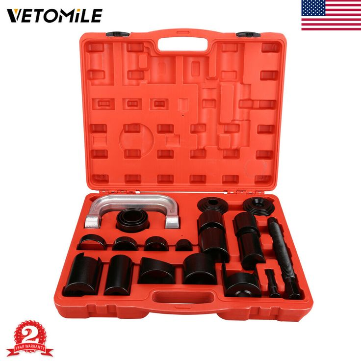 21PCS Ball Joint Adpater Set Auto C-Framer Press 2 4WD Master Removal Tool Kit