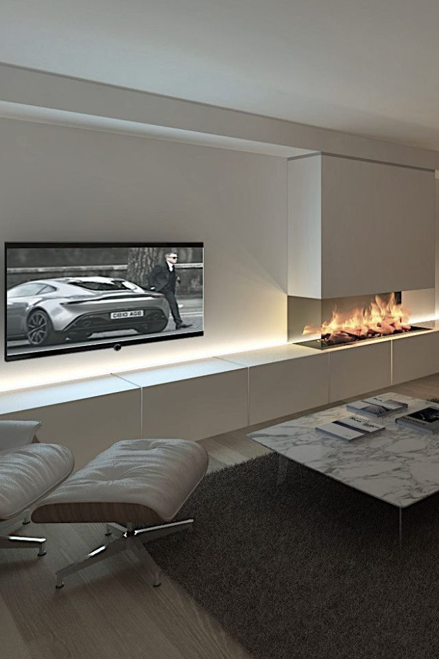 Best 25 fireplace tv wall ideas on pinterest for Interior design for living room chennai
