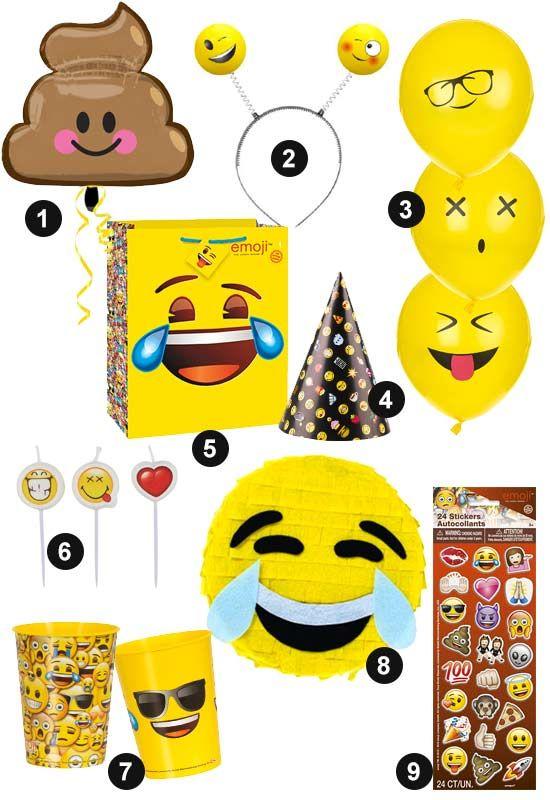 Anniversaire Pre Ado La Tendance Emoji Anniversaire Ado 15
