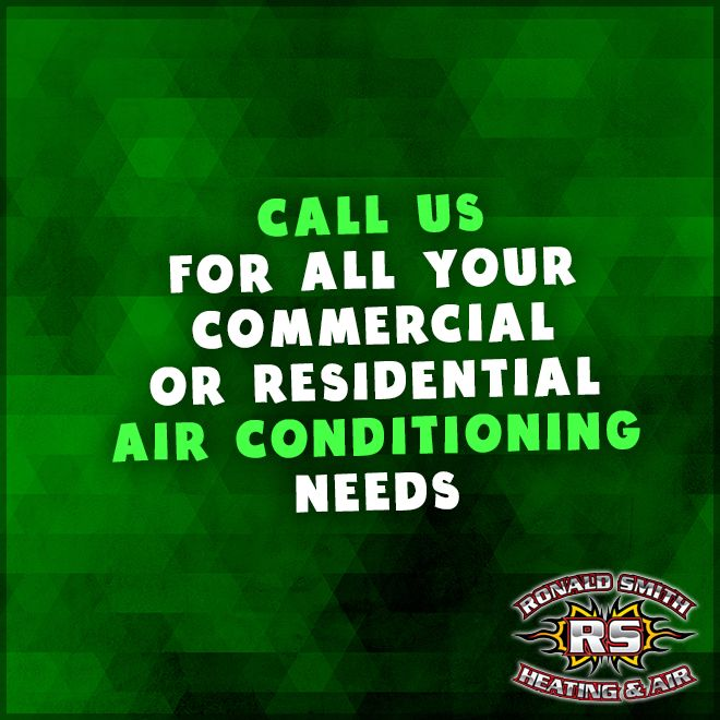 """Some common problems with existing air conditioning units result from faulty installation, inadequate maintenance, and poor service procedures. We know the """"ins"""" and """"outs"""" of taking care of air conditioning systems -- both residential and commercial. If you are having problems with your unit, call us . We will be happy to send someone out ASAP to take care of your needs. #CommercialHVACMaintenance #ResidentialHVACMaintenance #RonaldSmithHeatingAndAir"""