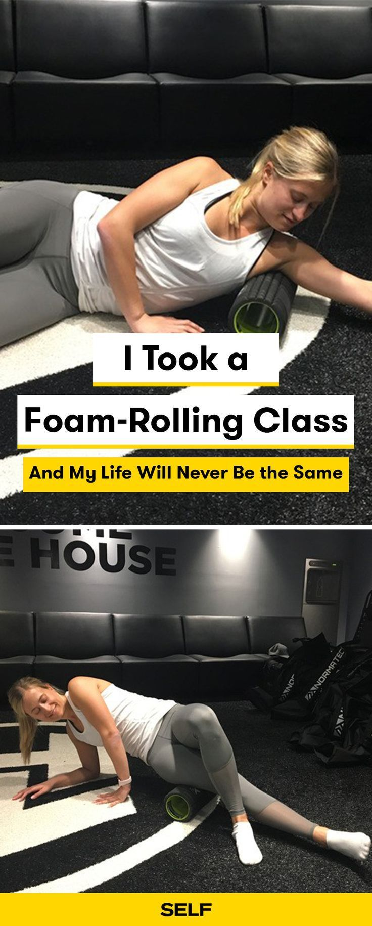 Foam-rolling feels good and has amazing benefits. I went to a physical therapist to show me the proper way to foam roll to prevent pain after hard workouts. Here's what I learned.