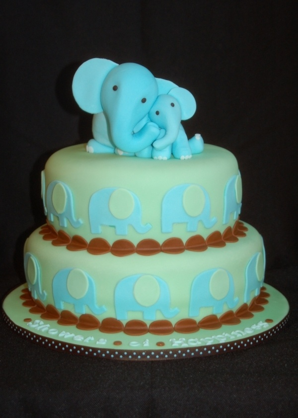 1000+ ideas about Baby Elephant Cake on Pinterest ...