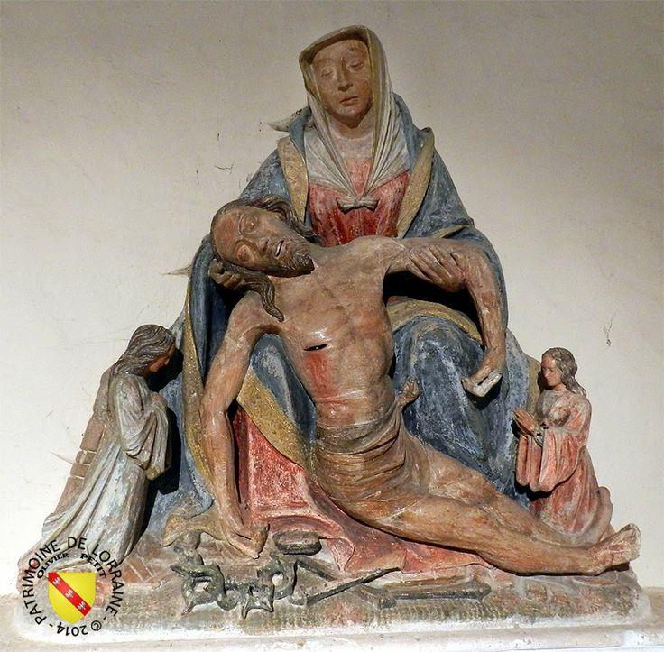PATRIMOINE DE LORRAINE: VAUDEMONT (54) - Pietà