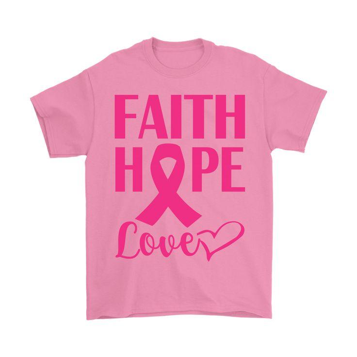 PINK BREAST CANCER AWARENESS Men's T-shirt (CHRISTMAS GIFT)