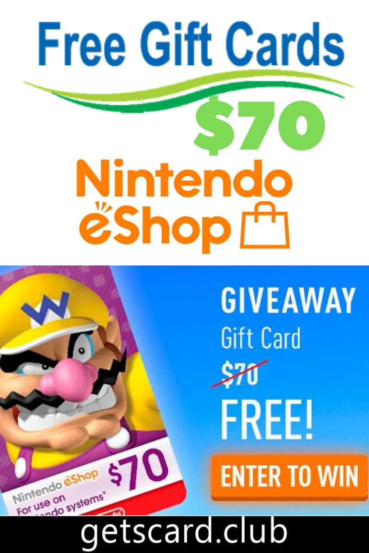Free nintendo gift card codes in 2021 free gift card