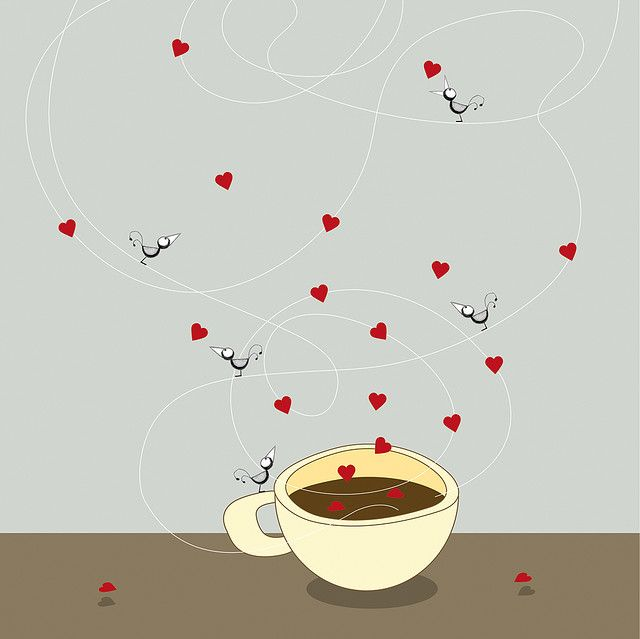 coffee love birds :)