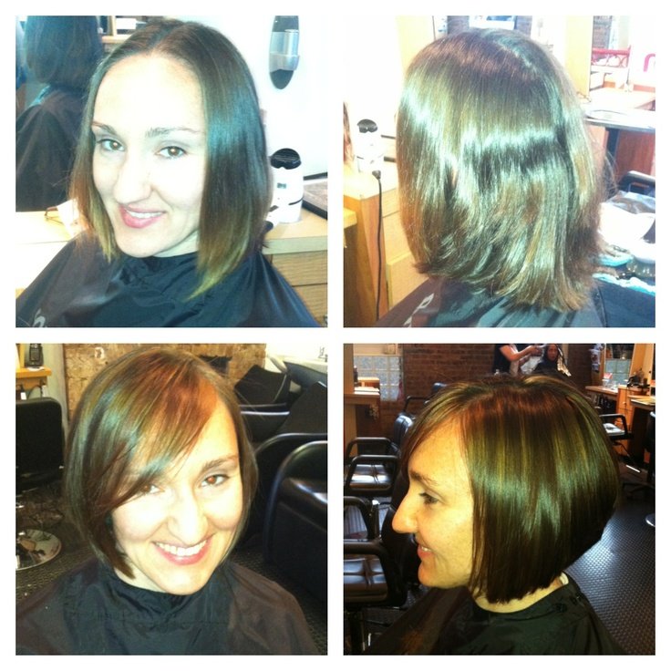 Before and After by Tiffany!!! #before #after #hair # ...