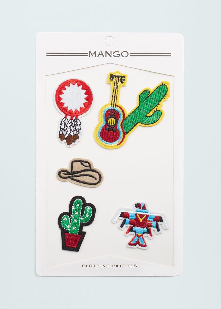 Parches Para Ropa Mujer Mango España Clothing Patches Mango Clothing Patches