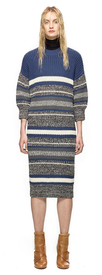 Longline Knitted Dress