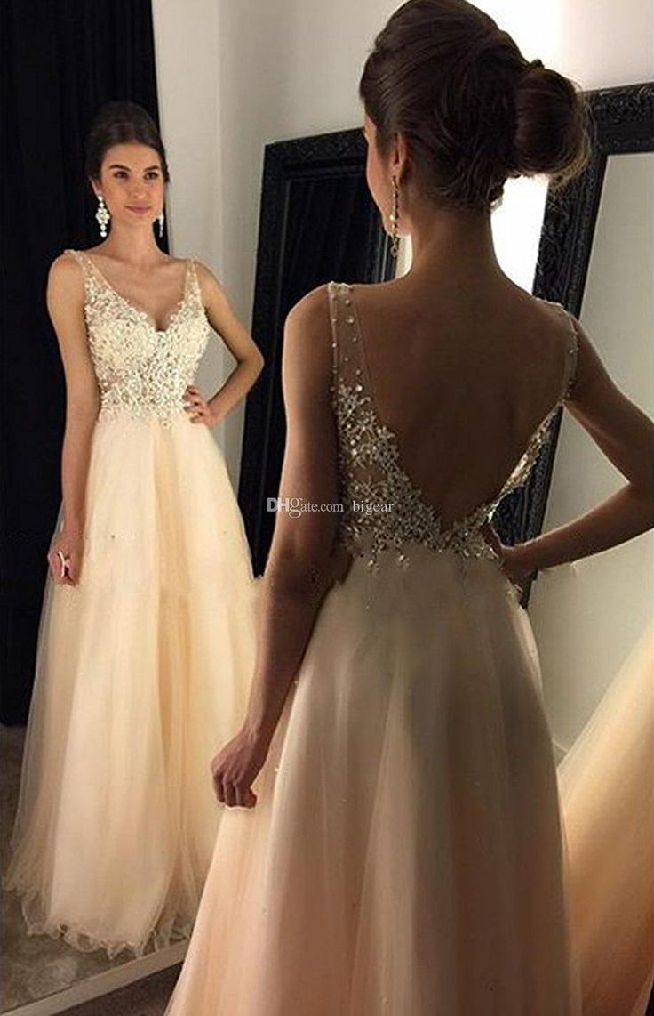 Prepare the 50s prom dresses for the upcoming prom? Then you need to see v neck long champagne prom dress with sequins low back in bigear and other 80s prom dresses and aqua prom dresses on DHgate.com.