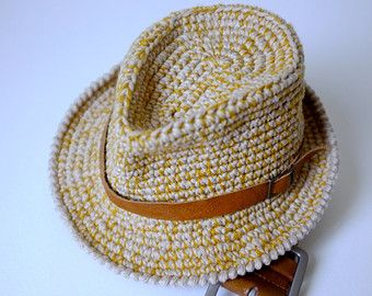 Fedora Hat Crochet Pattern Free Google Search Crochet