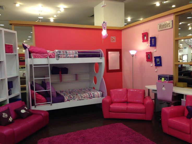 Cuarto de ni a rosa morado girls hair style pinterest for Cuarto para las 8