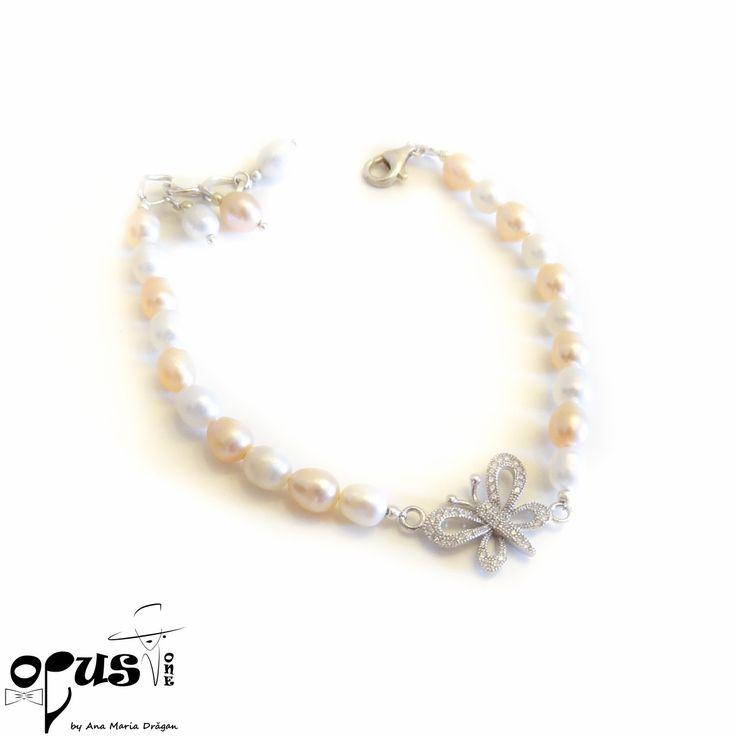 Bratara Fluture - Opus One - Accesorii, Bijuterii, Papioane Handmade