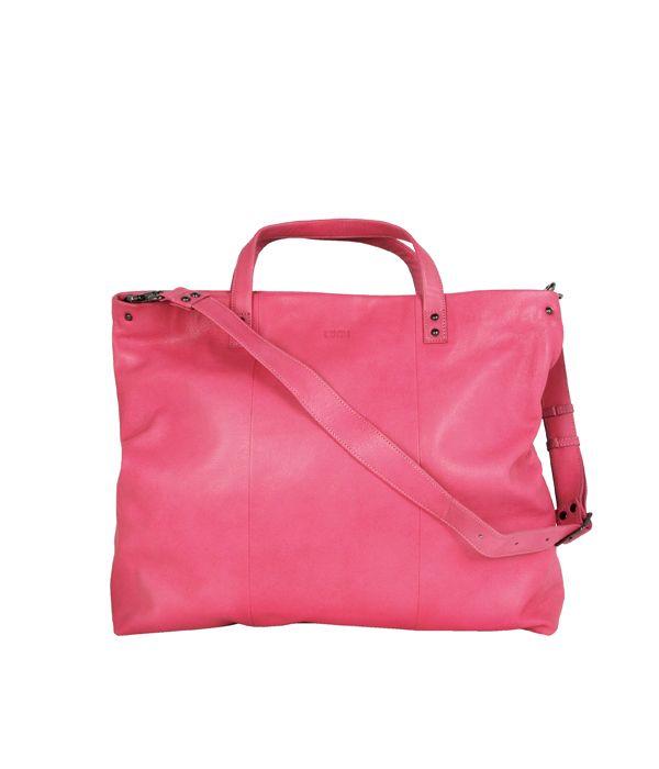 Hanna U Tote Pink | Lumi Accessories  www.shoplumi.com