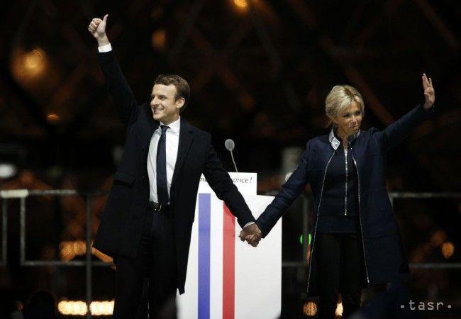 Novozvolený francúzsky prezident Macron má o 25 rokov staršiu manželku - Zahraničie - TERAZ.sk