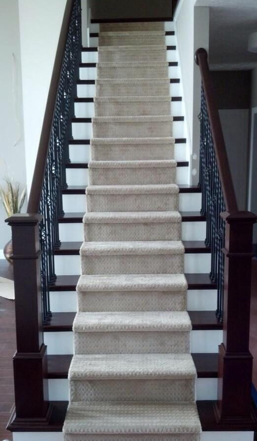 Wrought Iron Staircase Carpet Runner On Stairs Our