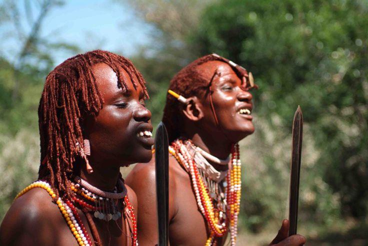 Sarova Mara Maasai warriors