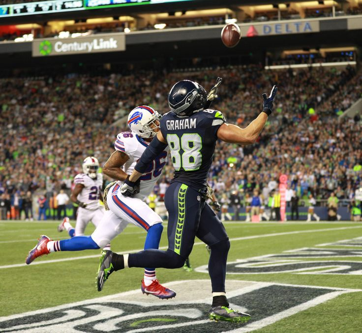 See some of the action from Monday Night Football, Seahawks vs Bills during Week 9 at CenturyLink Field.