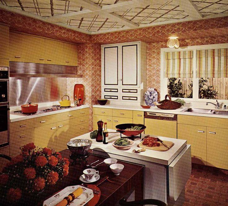 87 best RV Harvest Gold images on Pinterest | Rv, 1970s kitchen ...