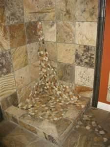 River Rock Shower Floor Bathrooms Forum Gardenweb