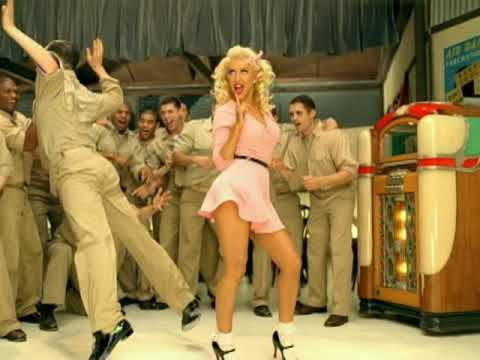WHEEeee !!!  LOVE THIS !! -    Christina Aguilera - Candyman -  Excellent Video Quality - originally pinned by Louise Szczepanik