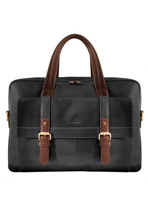 "Double Compartment Briefcase for 15.6"" Laptop & Tablet - Product # 95-501"