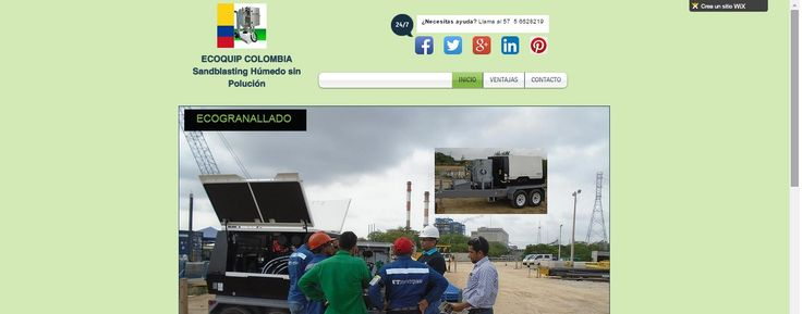 Visite nuestra pagina web Exclusiva de Sandblasting Ecológico Ecoquip: http://ingaxis.wix.com/ecoquip-colombia
