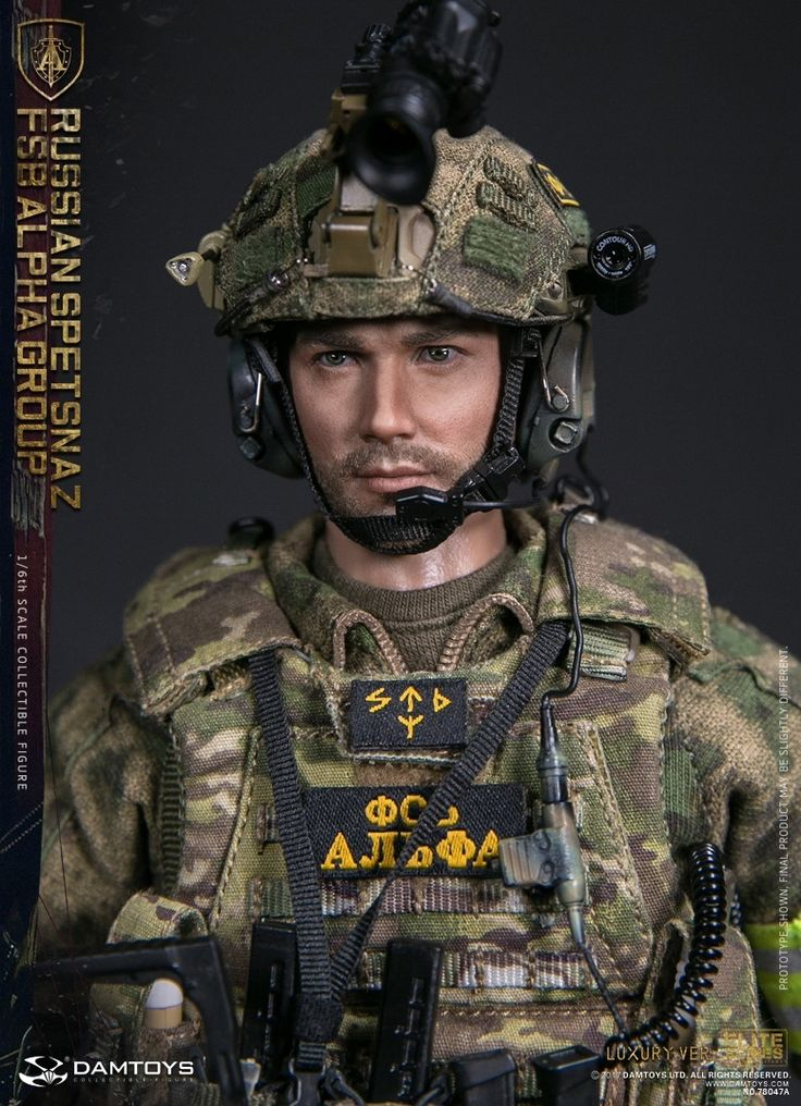 DAM 1:6 ELITE SERIES DAM-78047A; RUSSIAN SPETSNAZ FSB ALPHA GROUP (LUXURY VERSION)
