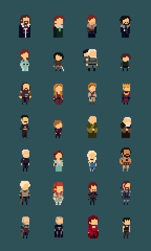Twitter / _andrio: 8bit Game Of Thrones! ...