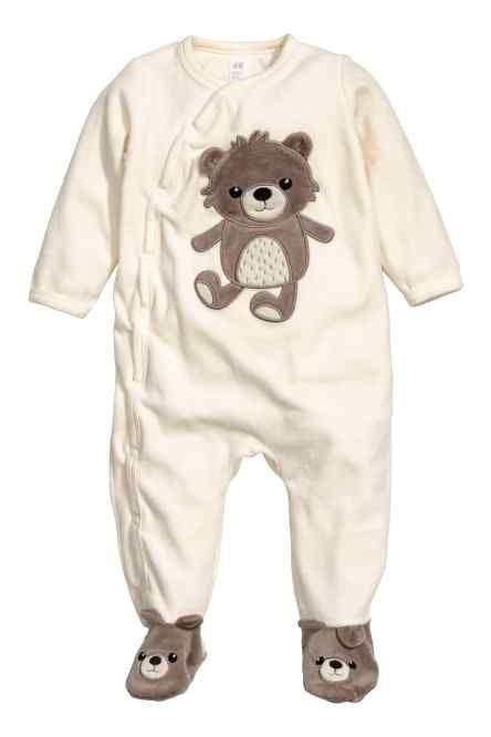 Velour pyjamas