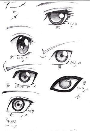 How to Draw Fantasy Anime | anime eyes - - DrawingNow