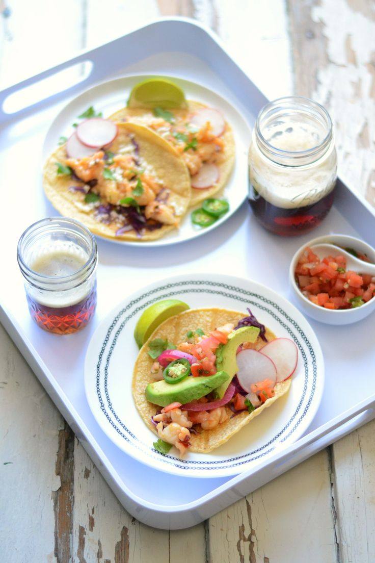 Brown butter chipotle lobster tacos