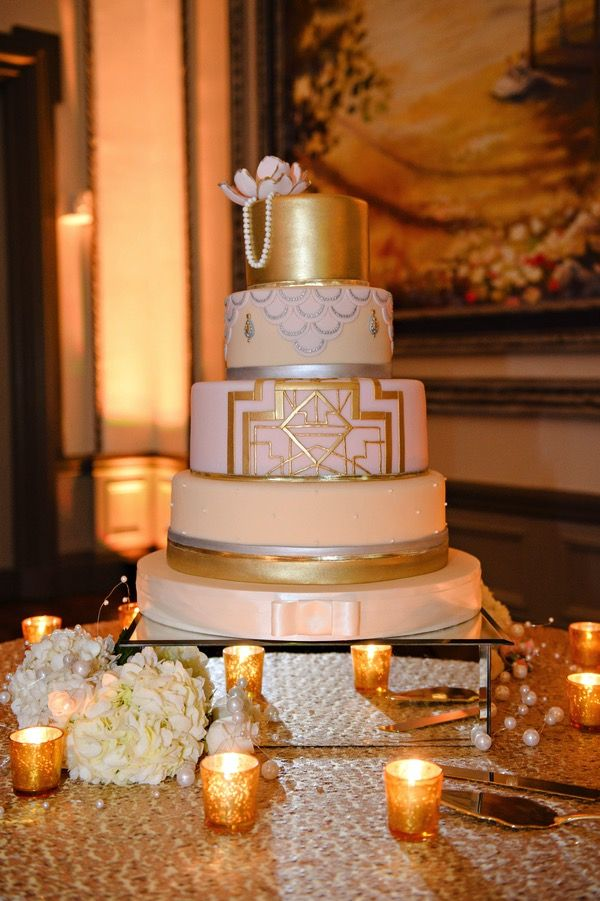 10+ ideas about Art Deco Cake on Pinterest Great gatsby ...