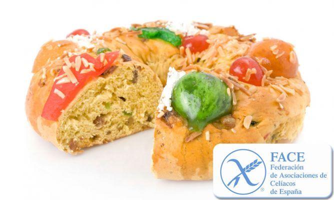 Roscon de Reyes sin gluten